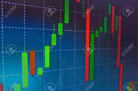 Stock Market Analysis Forex Stock Market Candle Graph Analysis On The Screen Stock Photo 16
