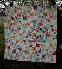 Hunting Quilt Patterns scrappy hunters star tutorial a layer cake ... & Hunting Quilt Patterns scrappy hunters star tutorial a layer cake friendly  pattern Adamdwight.com