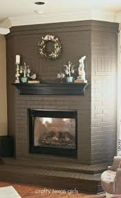 fireplace brick painting awesome ideas about painted brick fireplaces on paint refinishing brick fireplace photo brick fireplace brick painting