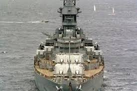 the wooden decks on u s s missouri were once covered in gray linoleum