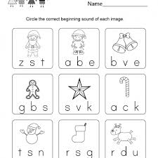 Christmas vocabulary write the letter worksheet. Free Printable Christmas Phonics Worksheet For Kindergarten Phonic Works A Part Of Und Phonics Kindergarten Kindergarten Phonics Worksheets Phonics Worksheets
