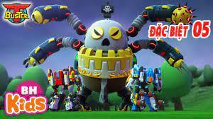 Hoạt Hình ROBOT Người Máy T-Buster Tập Đặc Biệt 5: Chế Độ Bay Tia Chớp    Phim Hoạt Hình Hay Nhất - Tuyển tập nhạc thiếu nhi hay. - #1 Xem lời bài hát