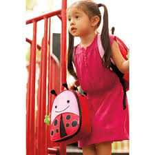 skip hop zoo lunchie insulated kids lunch bag ladybug