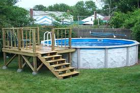 above ground pool with deck attached to house. Above Ground Pool Deck Plans For Pools Low Prices . With Attached To House