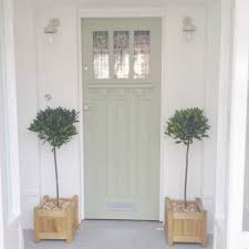 Front Door Painted In A Dulux Colour Match To Farrow And Ball - Farrow and ball exterior colours