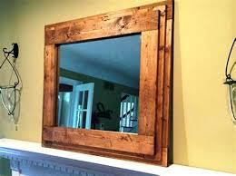 medium size of image of rustic wood frame large bathroom mirrors remodel home design unique kohls