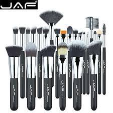 jaf 24 pcs makeup brush set high quality soft taklon hair professional makeup artist brush tool kit j24ssy opp 01 in eye shadow applicator from beauty