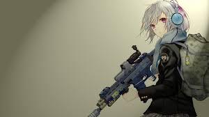 anime gun wallpaper 1920x1080. Perfect Anime Anime Girl With Gun HD Wallpaper 1920x1080 Inside M