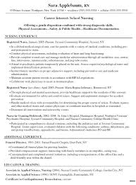 Example Of Registered Nurse Resume Extraordinary Registered Nurse Resume Template Correiodigital