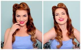 1940 s 50 s pinup hair and makeup you pin up hair