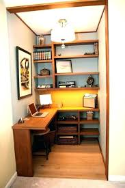 Home office closet Pinterest Closet Closet Desk Ideas Small Closet Office Office Closet Ideas Get Organized In Small Space With Closet Desk Ideas Office The Happy Housie Closet Desk Ideas Small Closet Home Office Ideas Thisisclasswarinfo