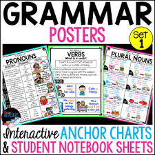 Grammar Chart Printables Helping Verbs Anchor Chart Worksheets Teaching Resources Tpt