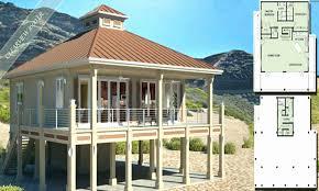 elevated beach house floor plans unique elevated beach house plans beach cottage elevated beach home plans