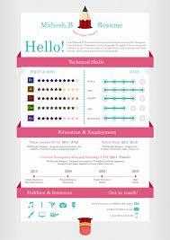 Resume Template For Graphic Designer Resume Templates Graphic