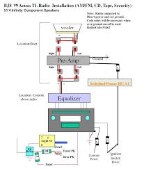 acura tl factory amp wiring diagram wiring diagrams