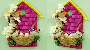 home decoration from waste materials