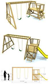 Swing Set Designs Diy Gorgeous Diy Playground Ideas To Make Your Kids Happy 90