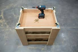 build a storage cart for yard tools
