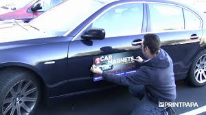 Car Magnet Design Tips How To Apply Your Car Magnet From Printpapa