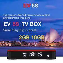 Genuine] 2021 EV tvbox 5P 6K AI VOICE dual WIFI smart tv box hot sell in  Japan Korea USA Canada NZ AUS Lifetime pk evpad plus