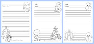 winter lined writing papers the curriculum corner  winter themed lined writing papers from the curriculum corner winter lined papers 5