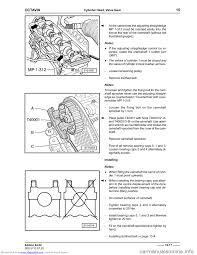 SKODA OCTAVIA 1999 1.G / (1U) 1.9TDi 66kw Engine Workshop Manual