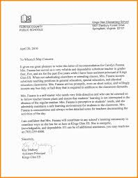 Best Work Letter Of Recommendation Example Image Collection To Whom