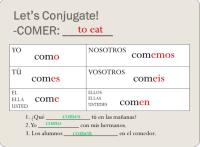 Jugar Spanish Chart Jugar Conjugation Related Keywords