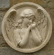 cherub angel wall plaques garden wall