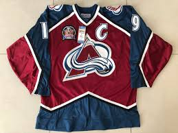 Check out a collection of colorado avalanche v new jersey devils photos and editorial stock pictures. The Complete Colorado Avalanche Joe Sakic Authentics On Ice Collection Every Era 1995 2018 Album On Imgur