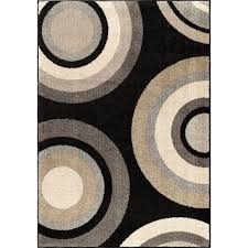 orian rugs curled rochelle multi 8 ft x 11 ft trendy colors circles indoor