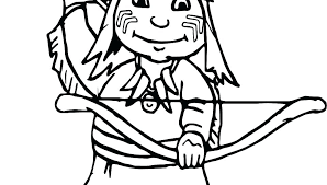 Pilgrim Girl Coloring Page Boy Coloring Page Pilgrim And Coloring