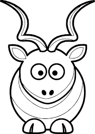 Small Picture Martouf Cartoon Kudu Coloring Page Wecoloringpage