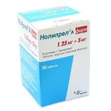 Купить <b>Нолипрел А форте</b> таблетки покрытые пленочной ...