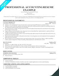 Accounting Resume Cover Letters Resume Sample Accounting For Graduate Accountant Also Cover Letter