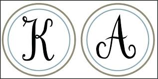 Free Templates For Letters Unique Monogram Letter Template Printable Best Of Pretty Monogram Template