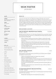 car mechanic resume guide 19 resume