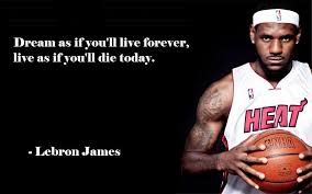 Famous Sports Quotes Simple LeBron James' Quote On Life Basketball Pinterest Lebron James