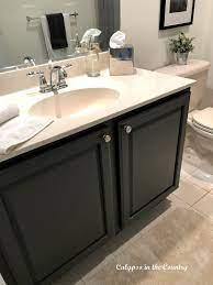 how to paint a bathroom vanity helpful