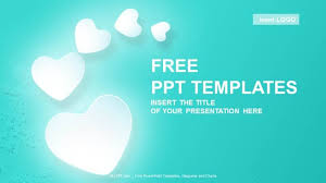 Heart Powerpoint Templates Love Hearts Abstract Powerpoint Templates Download Free