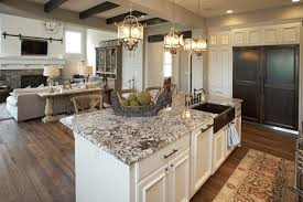 image of how to remove granite countertop from island