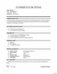 Blank Resume Format Download Or Download Simple Resume Format In