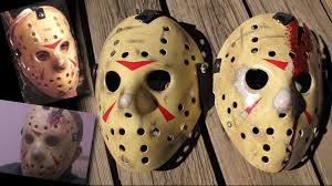 how to make friday the 13th part 3 and 4 jason masks diy painting tutorial you