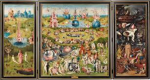 the garden of earthly delights triptych the collection museo nacional del prado