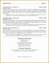5 Resume Format For Teachers Job In Word Format Besttemplates