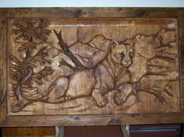 hand carved wall art masterpiece wood carved doors cougar art carving carved wood wall decor target