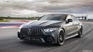 Driving dynamics at motorsport level, explosive sprints, maximum comfort. 2019 Mercedes Amg Gt 63 S 4matic 4 Door Coupe Front Hd Wallpaper 182