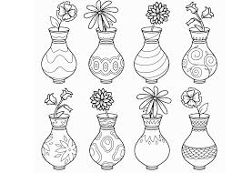 Geliefde Kleurplaat Bloemen In Vaas At Vuc16 Agneswamu