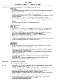 Dba Resume Examples Oracle DBA Resume Samples Velvet Jobs 12