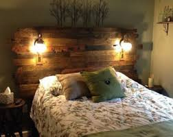 Pallet Wood Headboard - Rustic/Industrial - Repurpose, Reuse, Recycle. Each  one